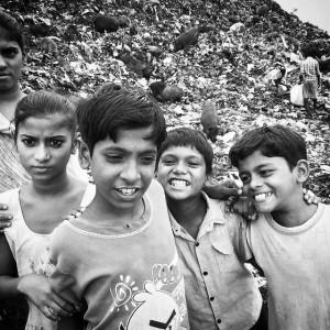 Kolkata kids dump