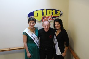 A Visit to Stevie King @ Q101.2 for a wee Radio Interview